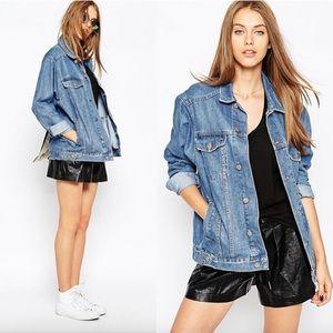 ASOS denim girlfriend jacket